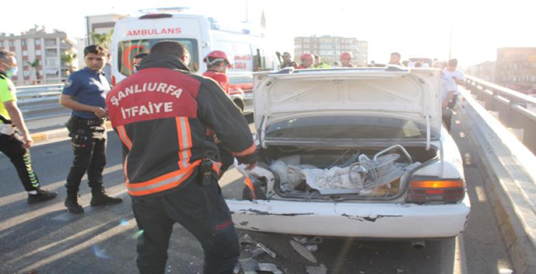 Urfa'da kaza, 2 ölü