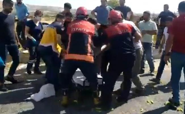 """Urfa""""da trafik kazası, 2 yaralı"""