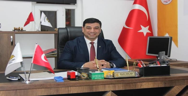 Anavatan Partisi Urfa İl Başkanından Kurban Bayramı Mesajı