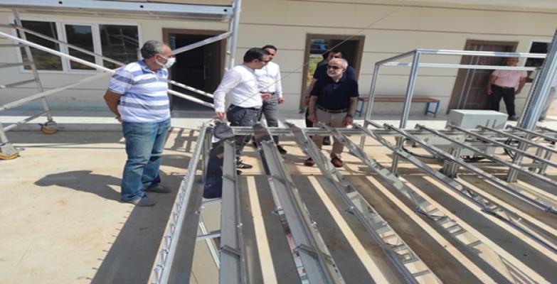 Harran Üniversitesi'nde Yoğunlaştırılmış Güneş Kolektörü Geliştirildi