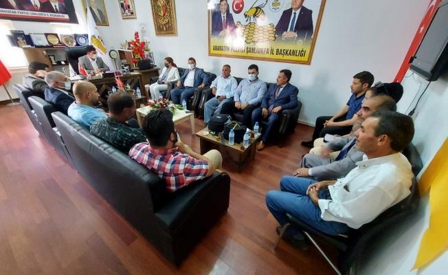 Vildan Polat'tan Başkan Aslan'a ziyaret