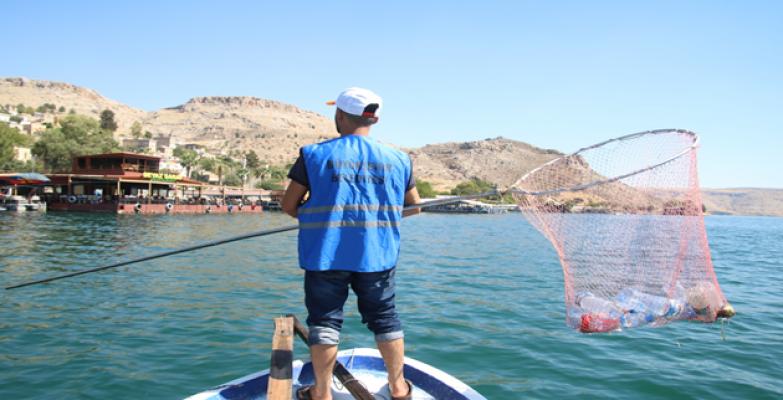 Büyükşehir'den 'Saklı Cennet Halfeti'de Kapsamlı Temizlik