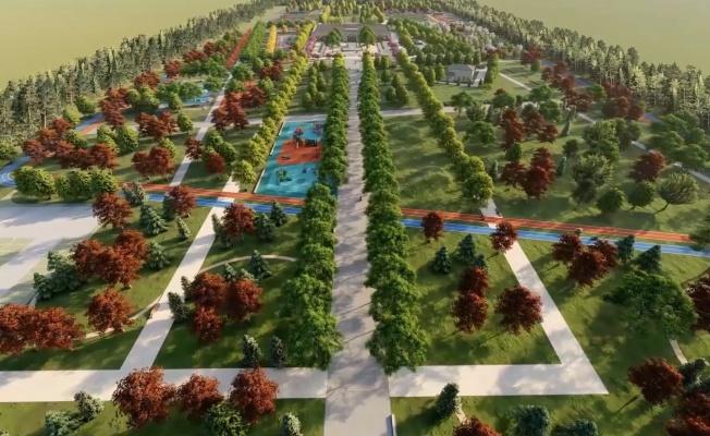 Eyyübiye'de Devasa Millet Bahçesinin Yapımı Sürüyor