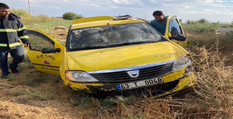 Urfa'da trafik kazası