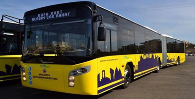 Urfa'daki yoğun otobüs hattına ek sefer