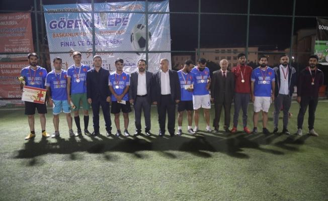 Göbeklitepe Başkanlık Halı Saha Maçı Kupasını Ovabeylispor Kazandı