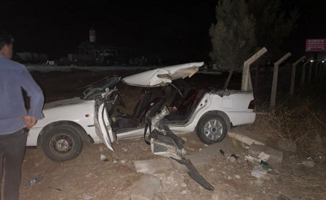 Suruç'ta Trafik Kazası 2 ölü 4 yaralı.
