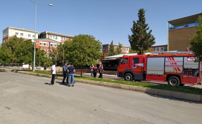 Urfa'da doğalgaz borusu patladı