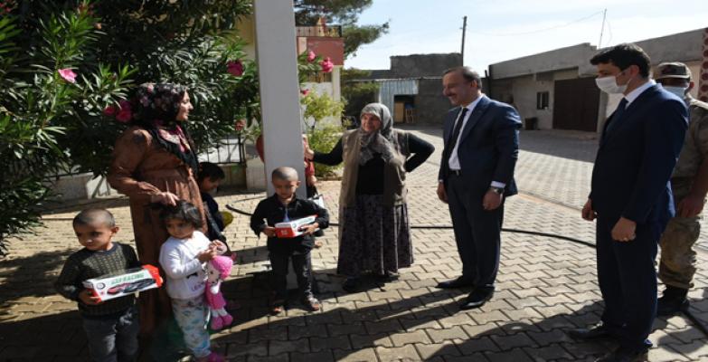 Vali Erin, Bozova, Siverek ve Viranşehir'de