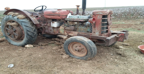 49 Yıllık Traktör Emekliye Ayrıldı