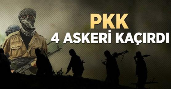 4 Asker Kaçırıldı