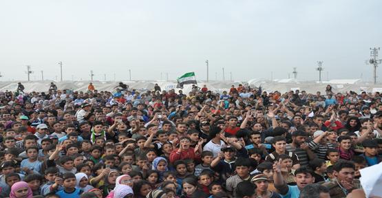 500 Bin Suriyeli Türkiye'de