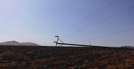 6 Köyü Elektriksiz Kaldı