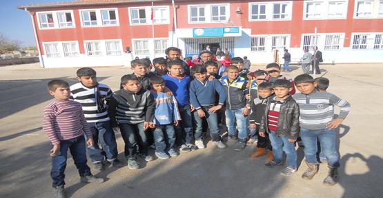9 derslik okulda 857 öğrencinin eğitim görüyor