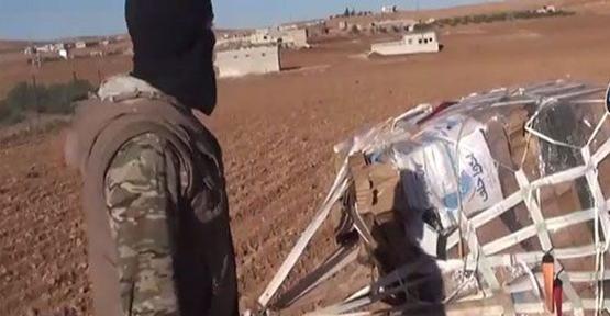 ABD'nin yardım paketi IŞİD'in elinde iddiası