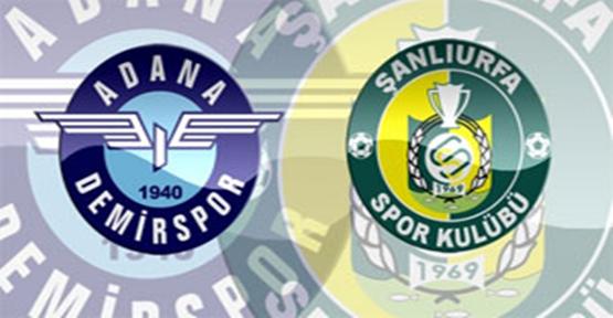 Adana Demirspor 2-0 Şanlıurfaspor
