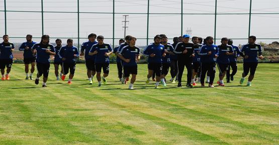 Adanaspor hazırlıkları devam ediyor