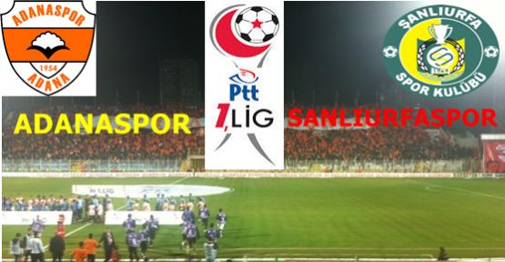 Adanaspor 1 - 1 Şanlıurfaspor