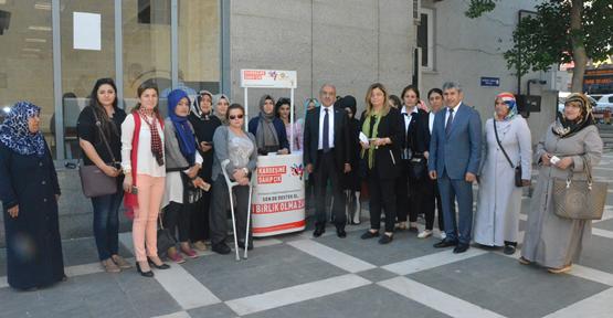 """AK Kadınlar Azerbeycan'a Destek İçin """" İşgale Dur Dedi """""""