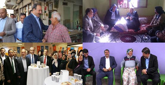 AK Parti adayları ilçelerde