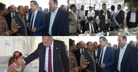 AK Parti adayları sivil toplum kuruluşlarıyla bir araya geldi