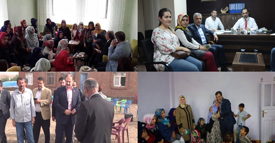 AK Parti adayları yollarda
