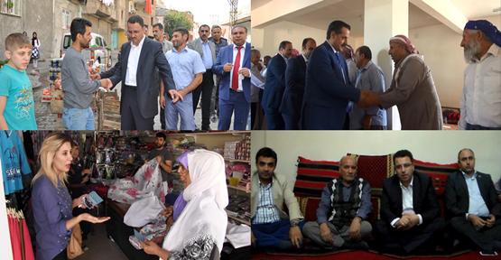 AK Parti adaylarına destek