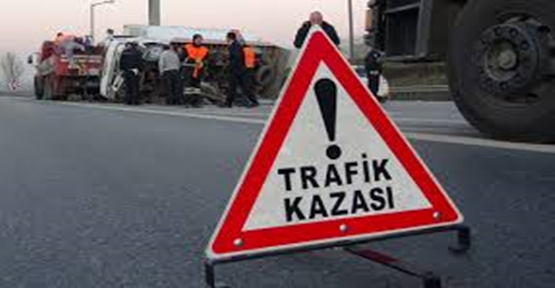 AK Parti konvoyunda kaza: 2 ölü