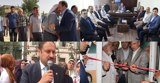 AK Parti seçim çalışmaları devam ediyor