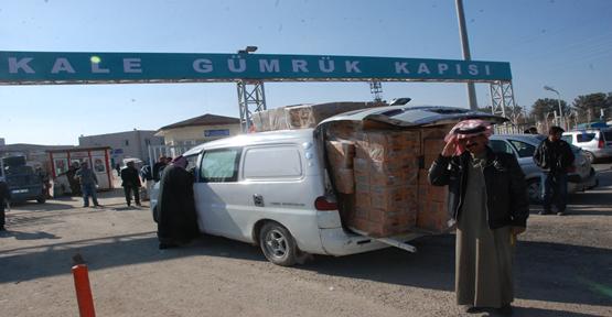 Akçakale Esnafı Türklere yasak Suriye'ler Serbest