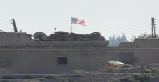 Akçakale karşısındaki ABD bayrağına açıklama geldi