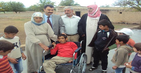 Akülü Tekerlekli Sandalye Dağıtımı