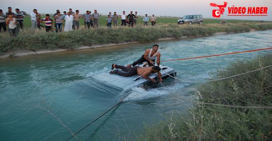 Araç Kanala Uçtu 1 Çocuk Kayıp