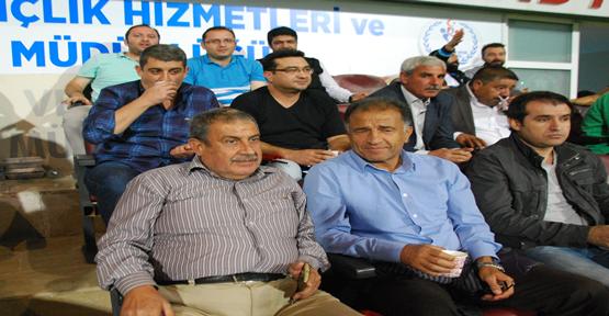 Arıkdoğan GAP Arena maç izledi