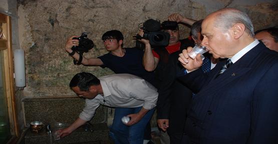 Bahçeli Başbakana Urfa'dan gönderme yaptı