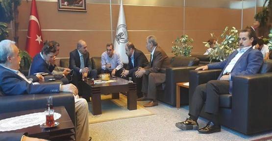 Bakanlar Urfa'da toplantıya girdiler
