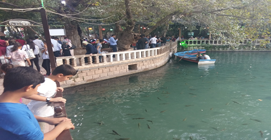 Balıklıgöl'e Turist Akını