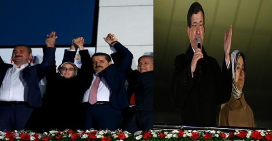 Başbakan Davutoğlu Balkondan Seslendi: Eski Türkiye Tarihe Gömüldü