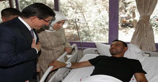 Başbakan Suruç Yaralılarını Ziyaret Etti