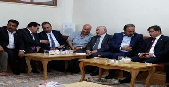 Başbakan'dan Özcan ailesine taziye ziyareti