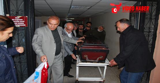 Başbakanlık talimatıyla cenaze getirildi