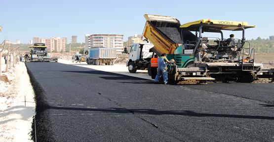 Basın sitesi yolu asfaltlandı