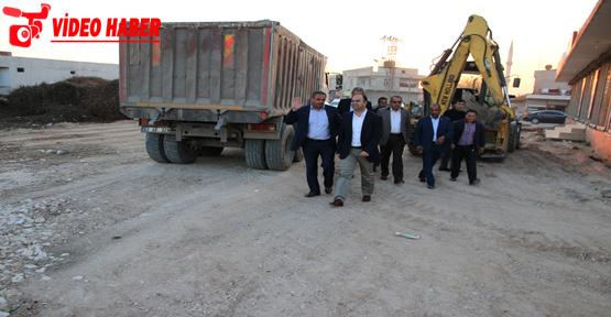 Başkan Çiftçi, Harran'da Çalışmaları Denetledi