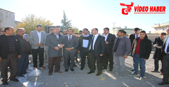 Başkan Çiftçi Harran'da Halkla Buluştu