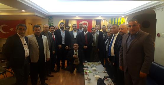 Başkan Çiftçi, İstanbul'daki Şanlıurfalılarla Bir Araya Geldi