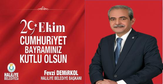 Başkan Demirkol Cumhuriyet Bayramını Kutladı
