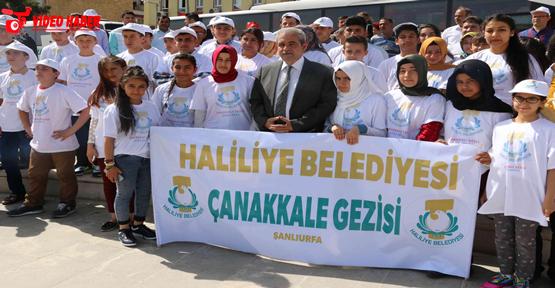 Başkan Demirkol, Öğrencileri Çanakkale'ye Uğurladı
