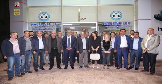 Başkan Demirkol'dan Vekil Adayı Yüksel'e Destek İçin Gaziantep'e Çıkarma