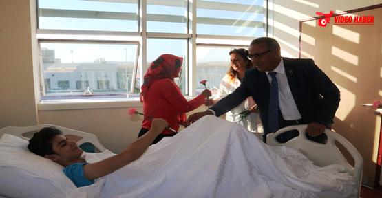Başkan Vekili Kızıldemir'den hastane ziyareti