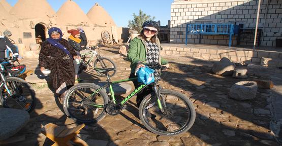 Bisiklet Severler Harran İlçesinde
